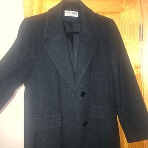 Women's long wool coat sz 6